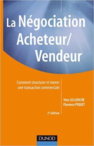 La négociation Acheteur / Vendeur – Editions DUNOD