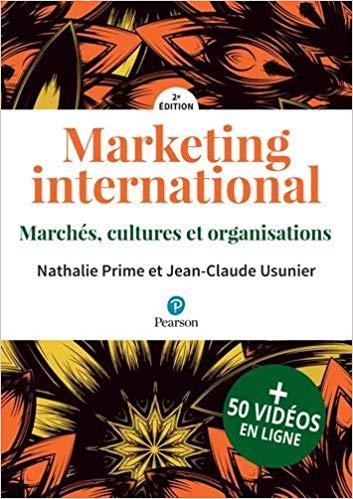 Marketing International – Editions PEARSON